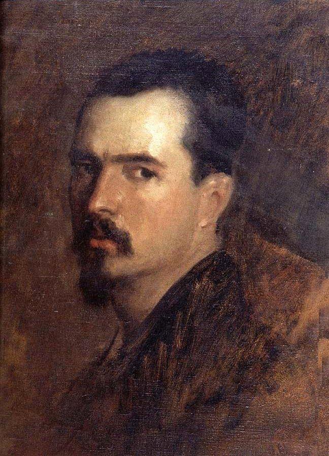 Grigorescu, Nicolae (1838-1907) - Self-Portrait (National Art Museum of Romania, Bucharest)