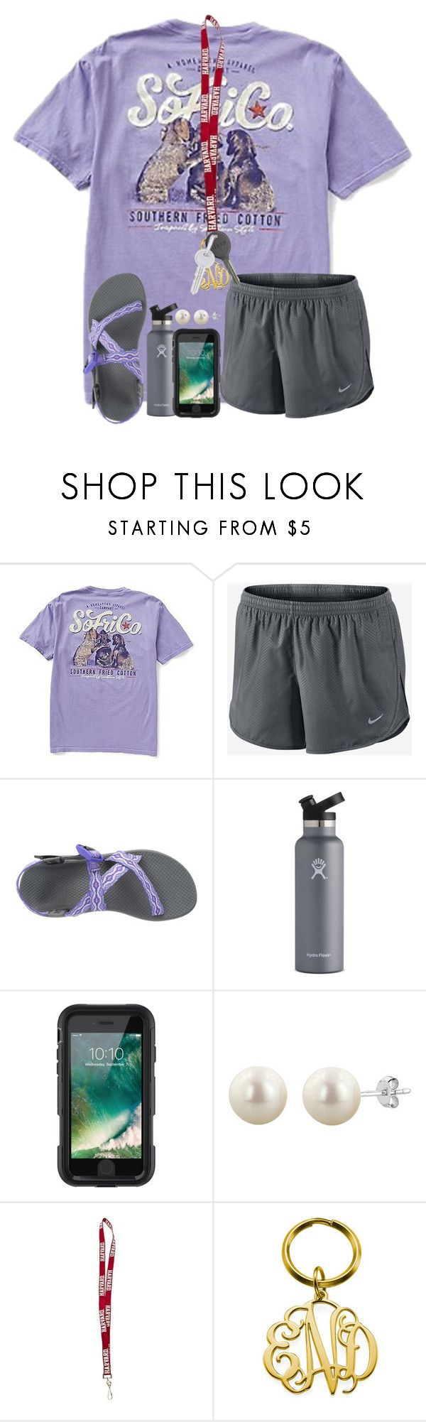 """""""the clock don't stop"""" by karinaceleste ❤ liked on Polyvore featuring NIKE, Chaco, Hydro Flask, Griffin, Cherokee and Rembrandt Charms"""