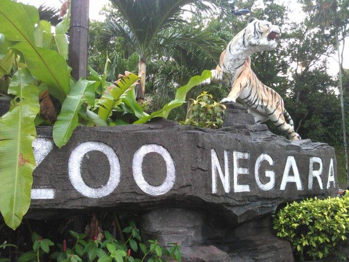 Zoo Negara (National Zoo) in Ampang, Selangor