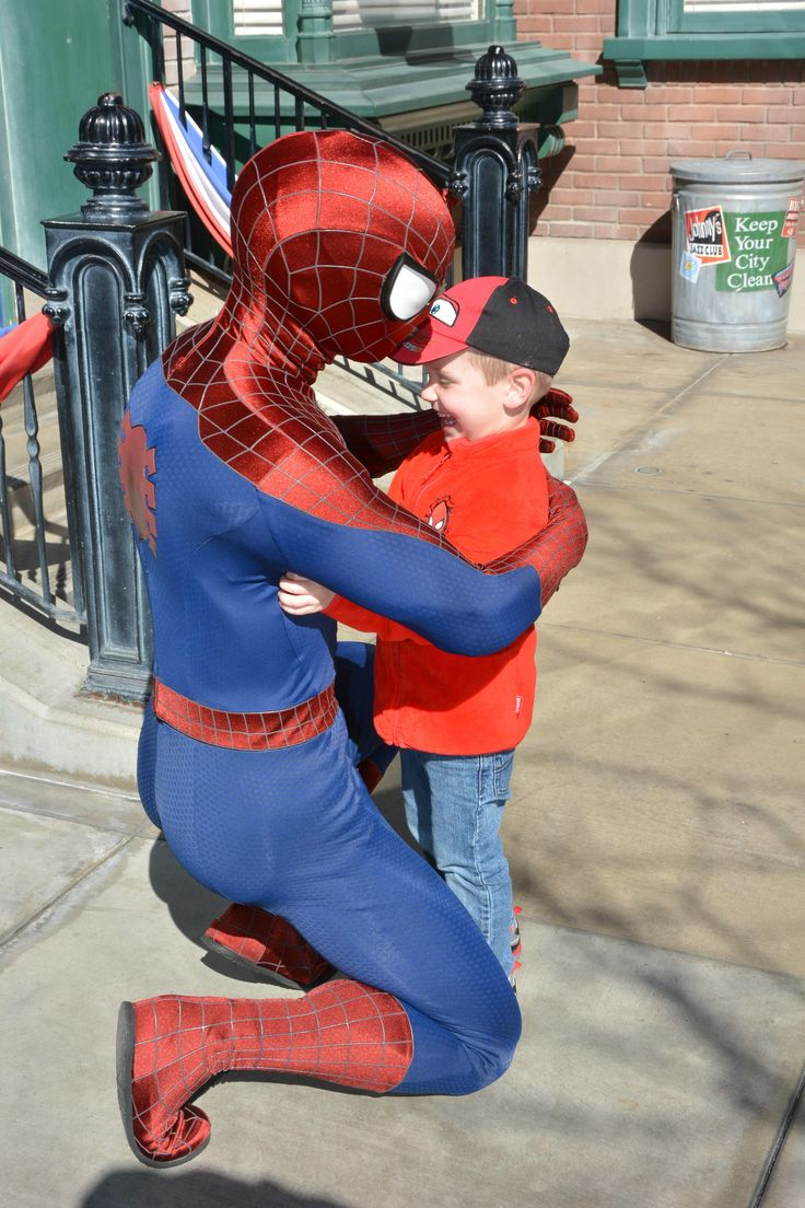 After 2 years of wearing Spiderman shoes gloves shirts hats and jackets almost every day my son finally got to meet him yesterday. http://ift.tt/2GGG7b0
