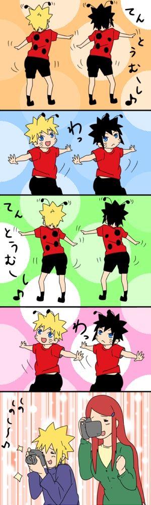 *Uzumaki *Naruto *Menma *Minato *Kushina Road to Ninja X Naruto(Shippuden)
