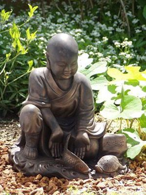 Large Zen Buddha Statues Suitable As A Garden Statue Or An Indoor Statue