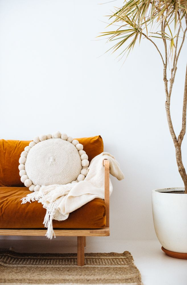 Pampa cushion, throws and rugs shot by @bobbysndtide