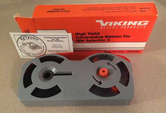 IBM Selectric Typewriter Ribbon by Viking Office Products