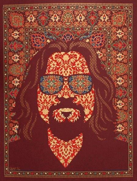The Dude's Persian Rug   Movie art, The big lebowski movie ...