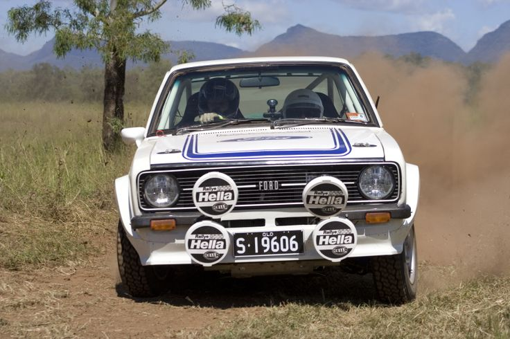 Escort RS Rally Car
