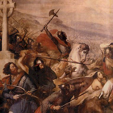 The Franks were a confederation of Germanic tribes originally from the Lower and Middle Rhine River. The Merovingian dynasty, descended from the Salians, founded one of the Germanic monarchies which replaced the Western Roman Empire from the fifth century. The Frankish state consolidated its hold over large parts of western Europe by the end of the 8th century, developing into the Carolingian Empire which dominated W Europe. This empire would gradually evolve into France & the Holy Roman…
