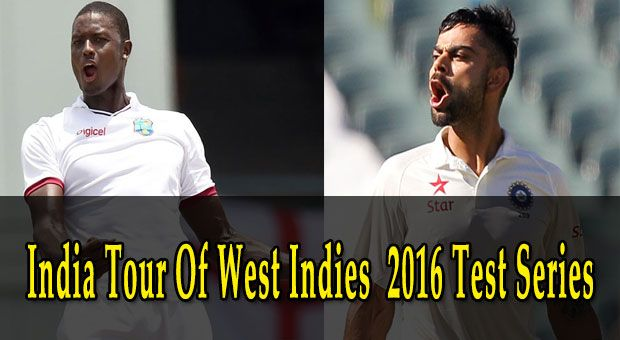 India vs West Indies 2016 Test Series Schedule: IND tour of WI Match Details - http://bit.ly/29WGNdR