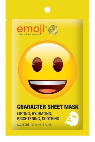 Emoji Happy Face Sheet Mask
