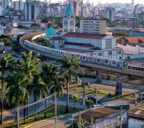 Santuario Das Almas Linha 2 Do Metro Sao Paulo Sp Metro