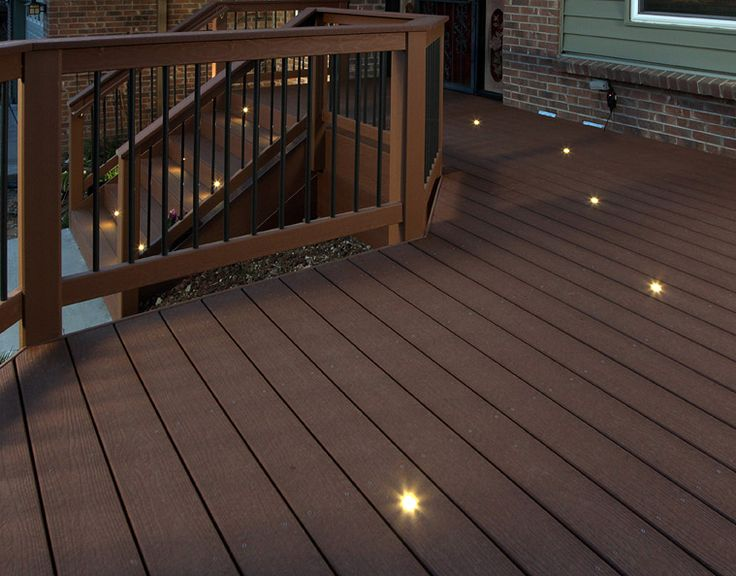 solar deck floor lights gurus floor. Black Bedroom Furniture Sets. Home Design Ideas