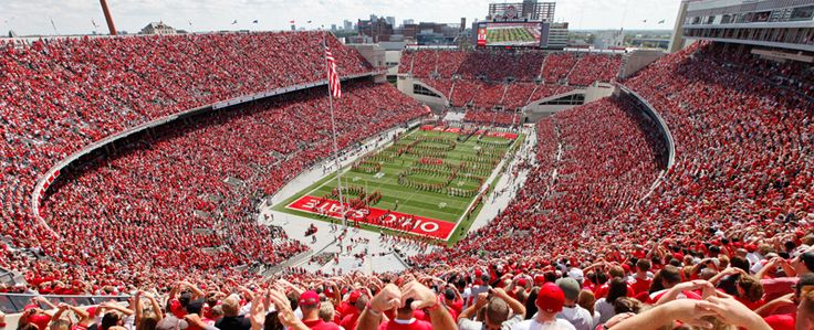 OK - this is not exactly about Thirty-One products, but Thirty-One corporate IS located in Columbus...  GO BUCKS!! Ohio Stadium, or the Horseshoe, is a 102,000-seat stadium located on the campus of The Ohio State University.