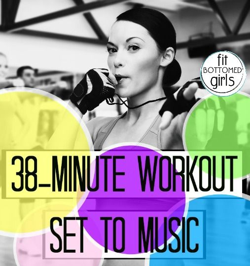 A 38-minute workout playlist set to the tunes of, well, EVERYTHING!