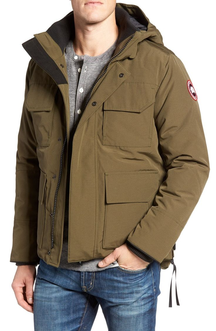 New Canada Goose 'Maitland' Down Fill Parka ,WHITE fashion online. [$795]top10shopping top<<