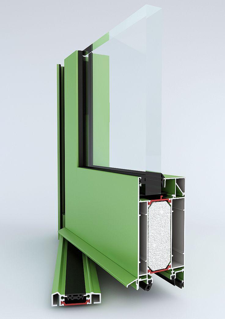 Vchodové dveře systém TM 74