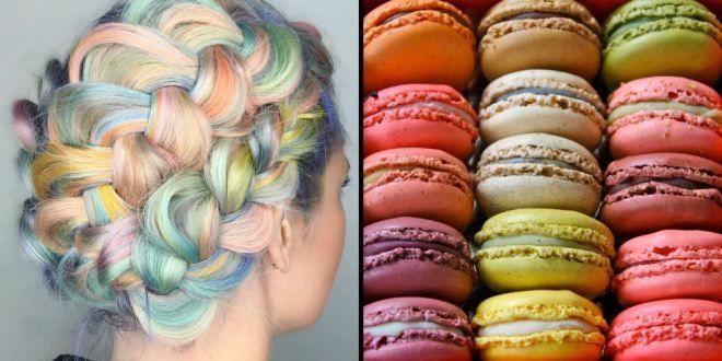 Sweetness Macaron So Inspiration for Hair Trend 2016 / (Photo: Cosmopolitan)