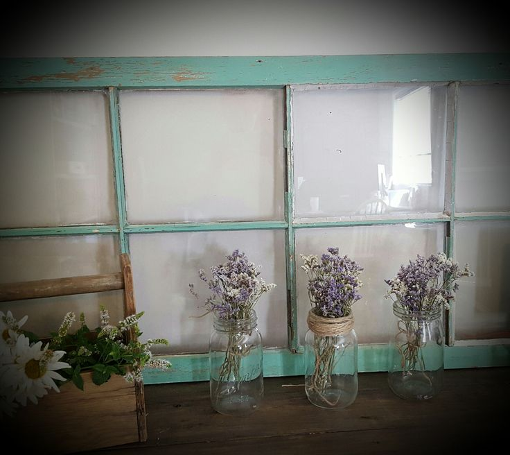 Vintage Window Paint Workshop by Tanya Nicole Designs
