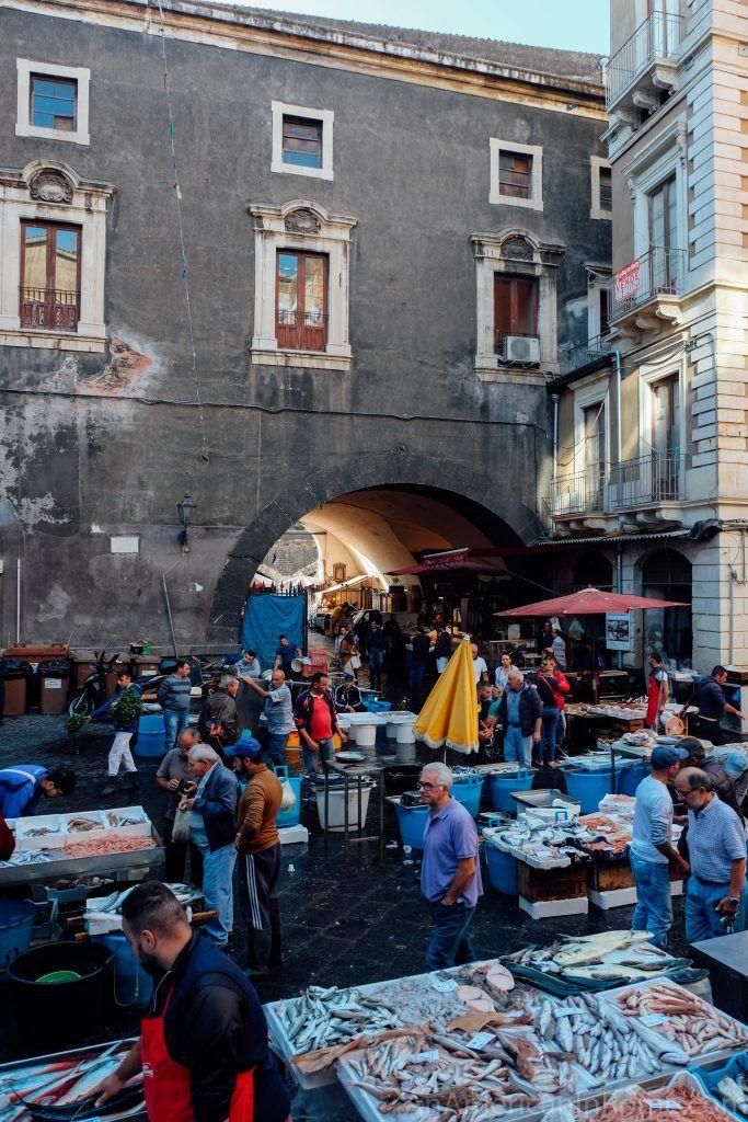 Catania Fish Market (La Pescheria in Catania) - An American in Rome   Catania, Sicily, Best of italy