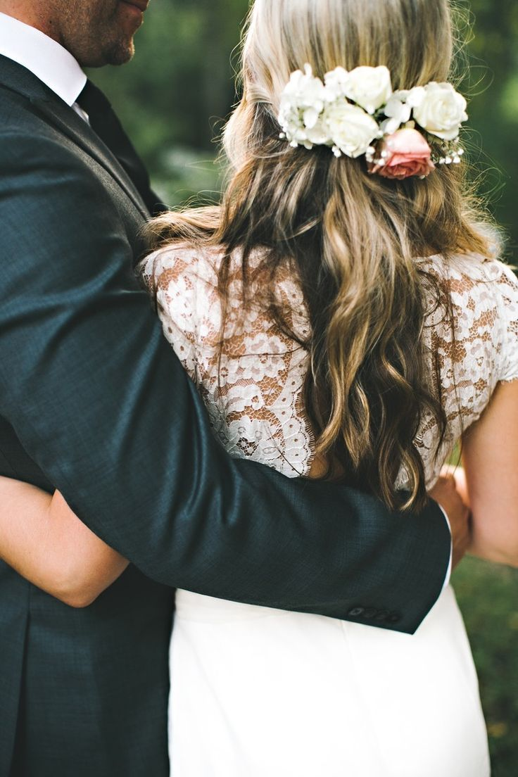 best 25+ wedding hair half ideas on pinterest | bridal hair half