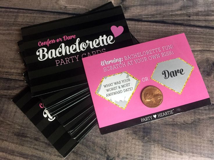 """Bachelorette """"Confess or Dare""""  Party Game Scratch Off Cards Girls Night Out Hen Party Truth Dare Scavenger Hunt Girls Night out by KUULYS on Etsy https://www.etsy.com/listing/472868369/bachelorette-confess-or-dare-party-game"""