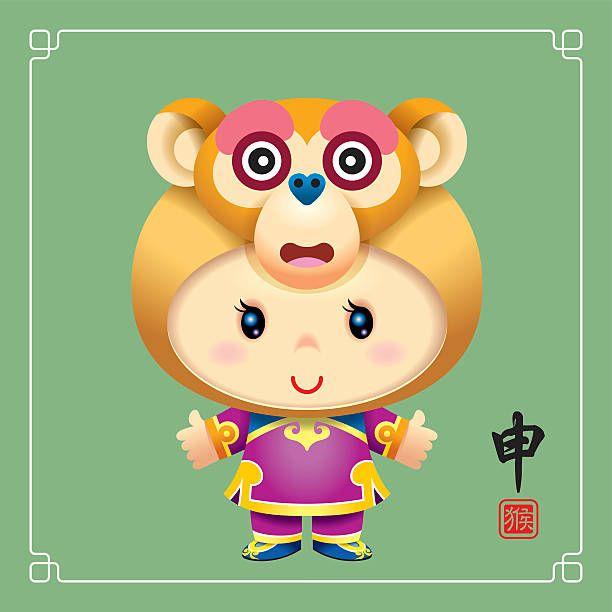 Monkey Hat Chinese Zodiac