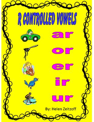 Big Book of R Controlled Vowels!  ar-or-er-ir-ur from Essential Reading / Language Skills on TeachersNotebook.com -  (75 pages)  - Instruction of r controlled vowel sounds is an important step in the decoding process. This book provides key words, pictures, and reading exercises to build a solid foundation of r controlled vowel sounds.