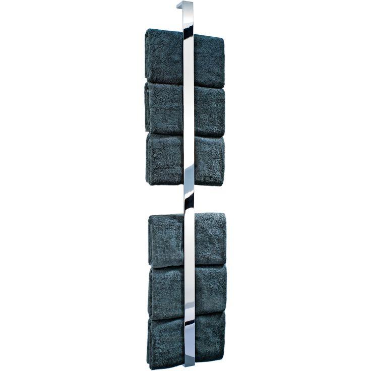 dwba chrome guest towel holder vertical towel rack 622
