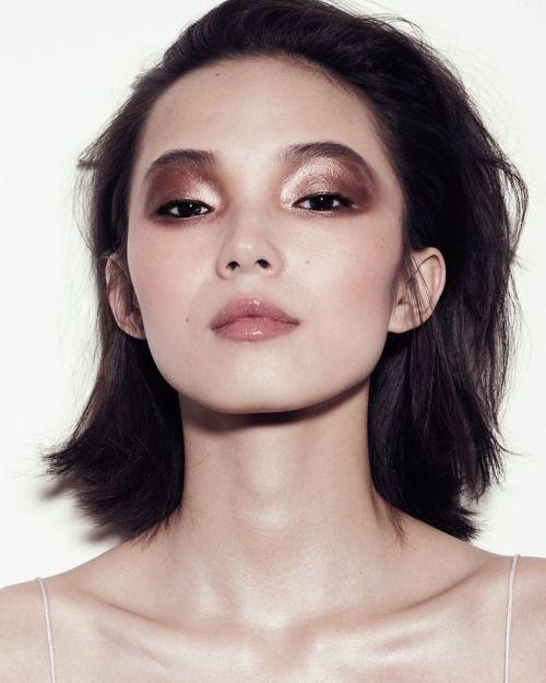vogue editorial rose+gold copper makeup fashion artist art home