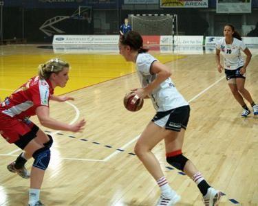 Handball arena flooring by Connor Sports www.koligas.gr