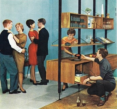 from an old modular furniture catalog reminds me of a mad men cocktail office s