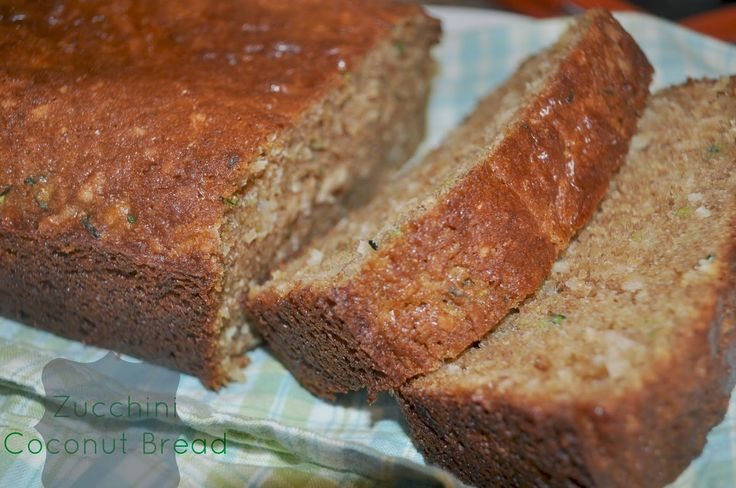 Fit Momma Foodie: Zucchini Coconut Bread | Breads | Pinterest