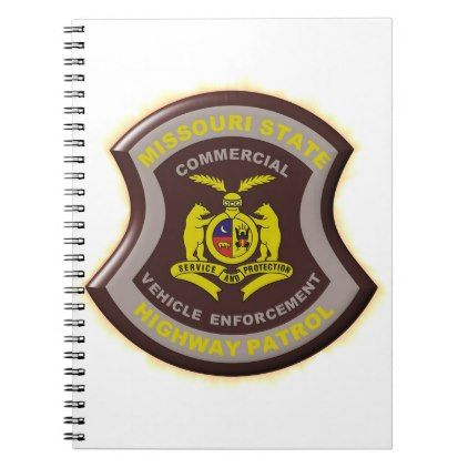 Missouri Highway Patrol Commercial Vehicle Enforce Notebook - office ideas diy customize special