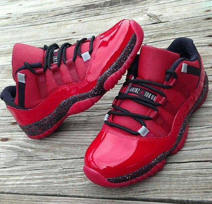 Top Quality Nike Air Jordan 11 Low Toro Custom
