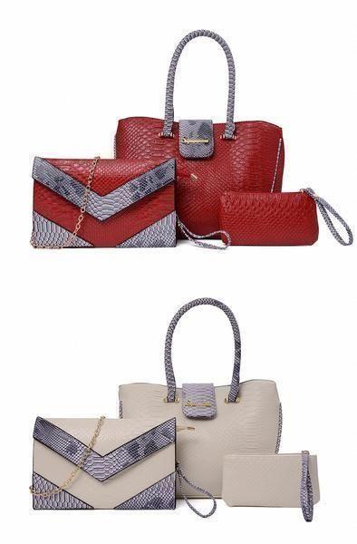 30e4408703d7 Women's Handbag Set PU Material Shoulder Bag 3 Pieces Set! Handbag|Handbag  designer|Handbag affordable|Handbag leather|Handbag rebe… | Products I Love  ...