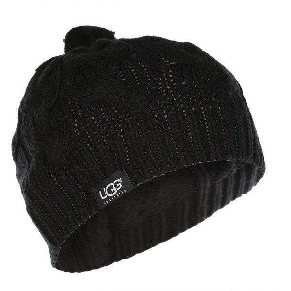 #UGG #Boots,#cheap #ugg, #fashion #ugg, #SHEEPSKIN #UGG #BOOTS, women ugg Ugg Womens Cable Knit Black Hat & Scarf Box Set ($155) found on Polyvore ugg boots outlet