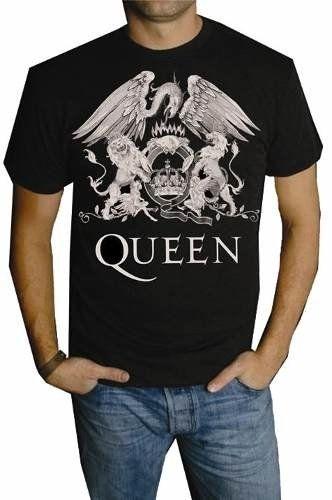 Playera Queen Logo Original Grupo Freddie Mercury (unisex)  df7296f1f0231