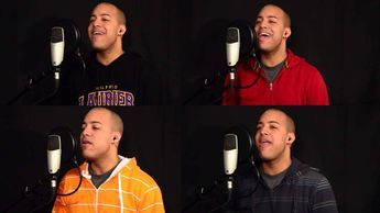 David Wesley - 10,000 Reasons (Bless The Lord) - Acapella with himself! Amazing!