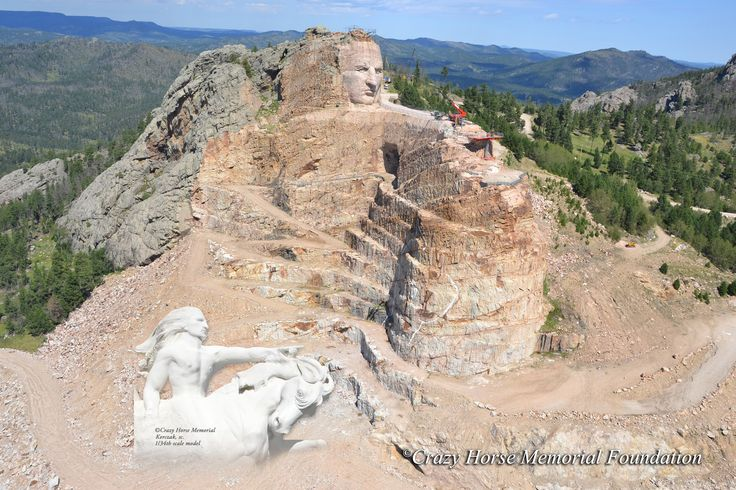 November is Native American Heritage month. Visit Crazy Horse Memorial to learn more about the Lakota's history as a great warrior nation.