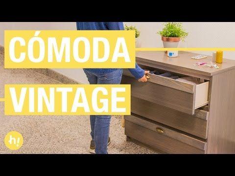 Cómo personalizar una cómoda de Ikea · Handfie DIY - YouTube