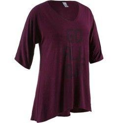 Fitness-T-shirt Shape DOMYOS - Fitness_Fitnesskleding Kleding - Decathlon