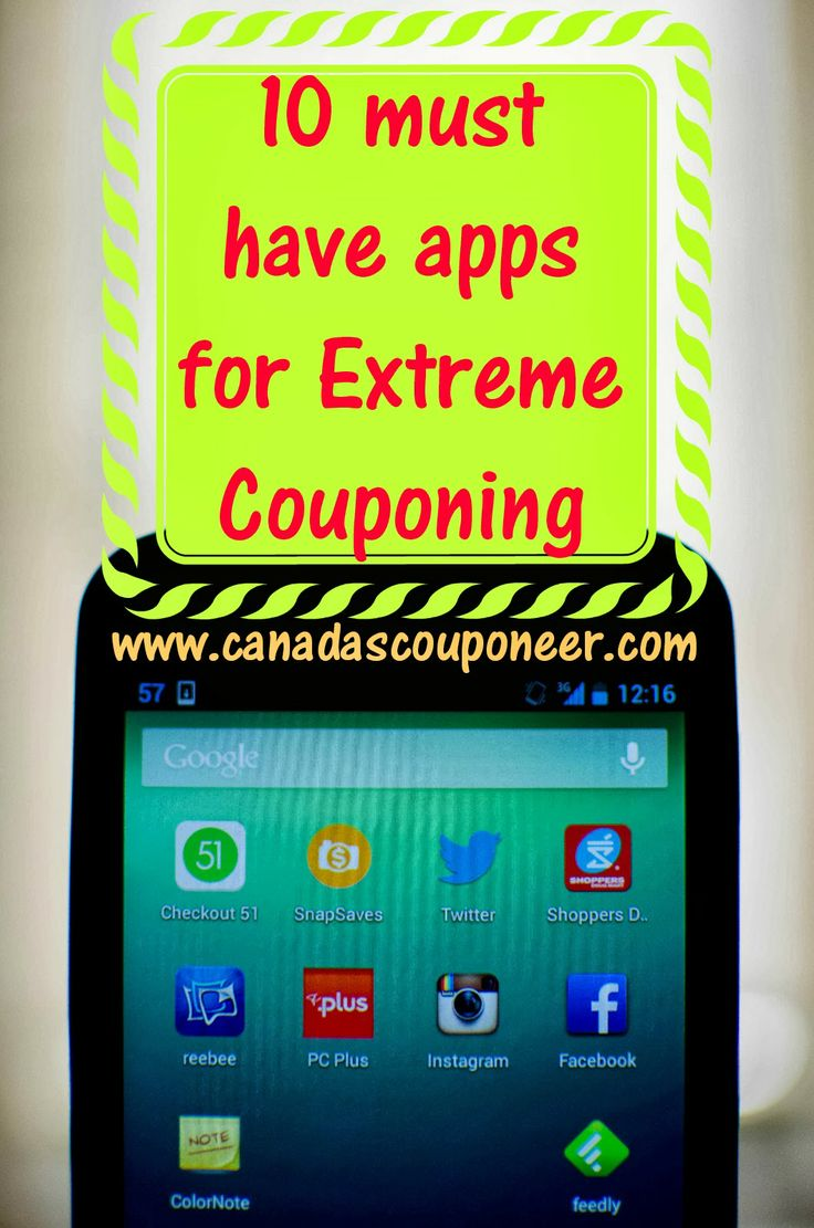 These are the top 10 apps I use for extreme couponing that I absolutely could not live without. Read about them and download them now!