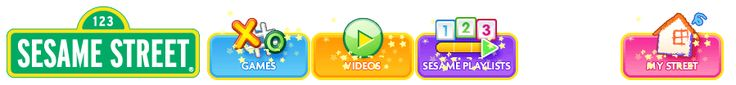 Sesame Street videos and games to help younger students learn.  Sesame Street tiene videos y juegos para ayudar los jovens a aprender.