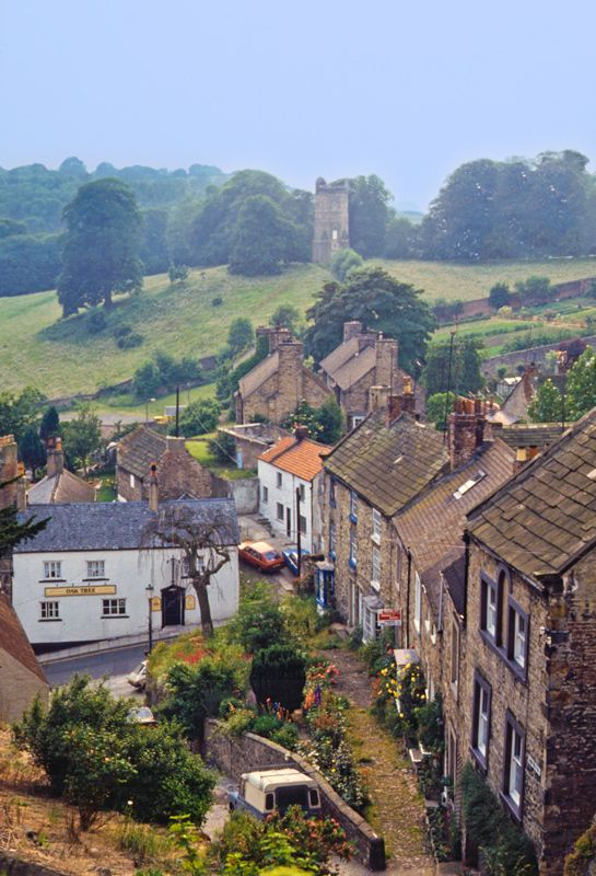 Richmond, North Yorkshire, UK I love the Castle in the distance