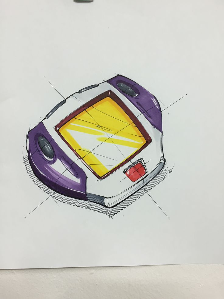 game console sketch