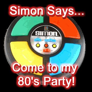 80 theme Party  | Free 80s Theme Party Invitations