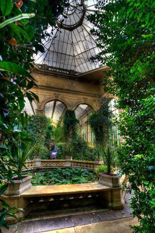 Castle Ashby House Northampton - The Orangery in the Italian Gardens |