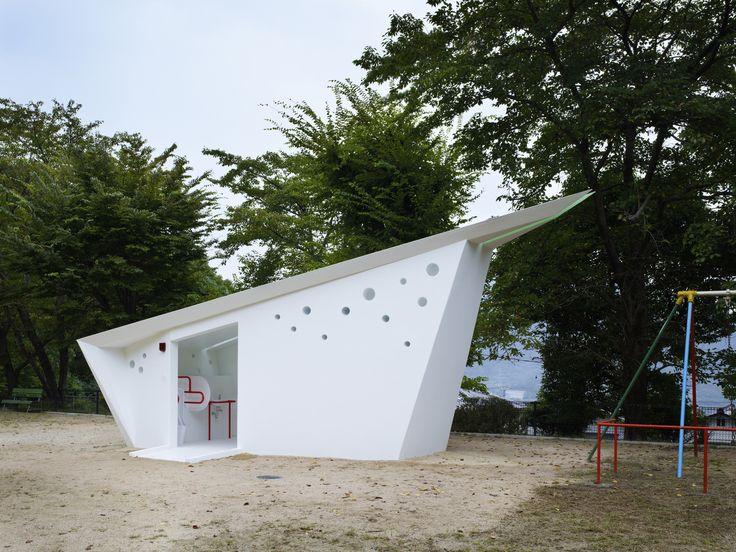 Hiroshima Park Restrooms: Absolute Arrows / Future Studio
