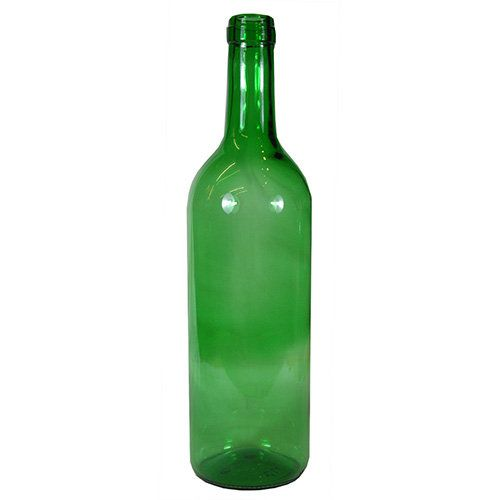 750 ml. Green Bordeaux (Corked, Flat Base) Wine Bottles - Wholesale  | Freund Container & Supply