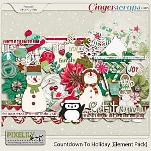 Countdown To Holiday [Element Pack]