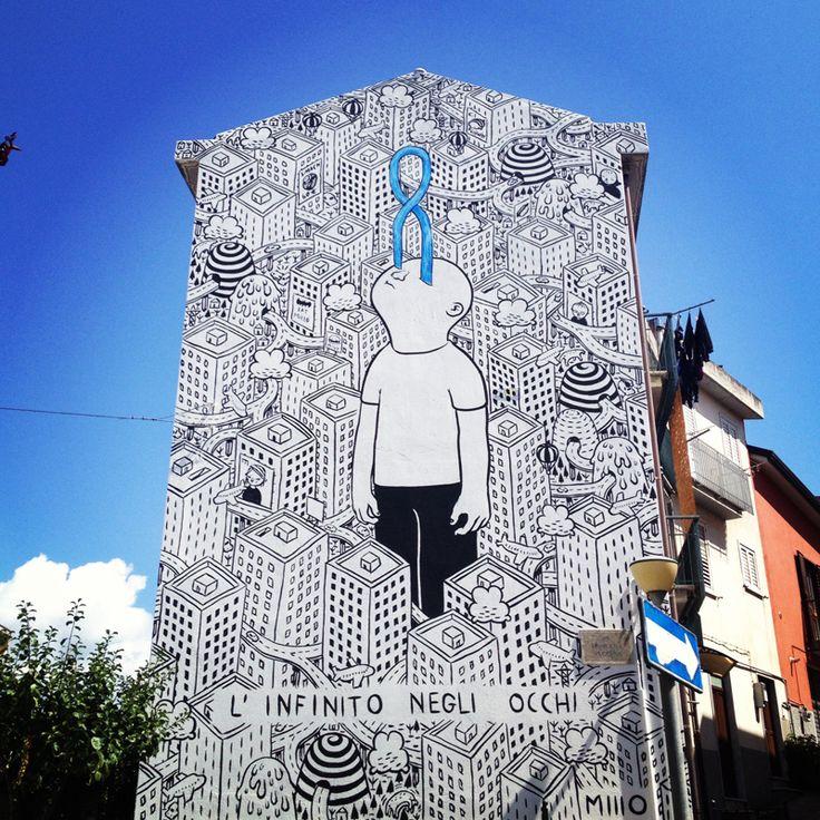 millo, STREET ART, #barriera #Torino